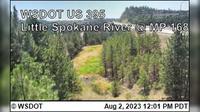 Spokane > North: US  at MP : Little - River () - Dagtid