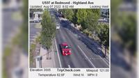 Redmond: US at - Highland Ave - Aktuell