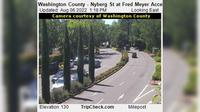 Tualatin: Washington County - Nyberg St at Fred Meyer Access - Current
