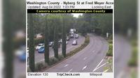 Tualatin: Washington County - Nyberg St at Fred Meyer Access - Day time