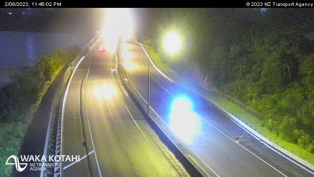 Webcam Hobsonville › East: SH18 Upper Harbour Bridge