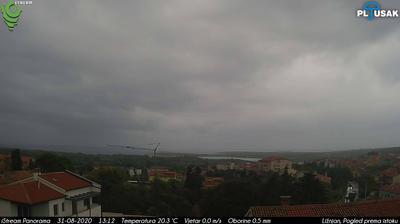 Daylight webcam view from Ližnjan › East: Istria County