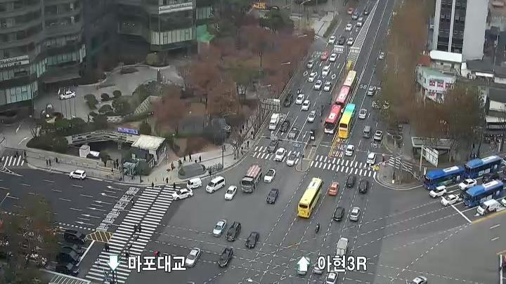 Webcam Tohwai-dong: traffic webcams, South Korea