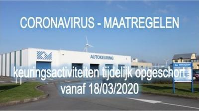 Daylight webcam view from Bruges: Keuringsstation
