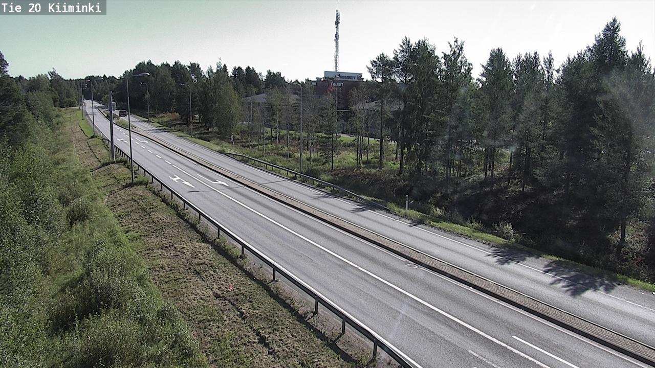 Webcam Oulu: Tie 20 Kiiminki − Kuusamoon