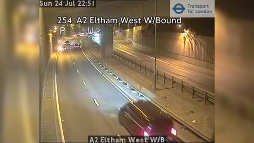 Webcam Bexley: A2 Eltham West W/B