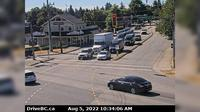 Pitt Meadows > South: , Hwy  (Lougheed Hwy) at Harris Road, looking south - Actuales
