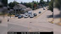 Pitt Meadows > South: , Hwy  (Lougheed Hwy) at Harris Road, looking south - Current