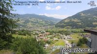 Gemeinde Tschagguns: Tschagguns - Montafon Nordic Schanzenzentrum - Blick nach NO - Jour