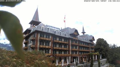 Sachseln: Jugendstil-Hotel Paxmontana, Sarner See