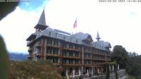 Sachseln: Jugendstil-Hotel Paxmontana, Sarner See - Day time