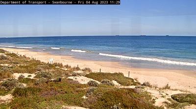 Vista de cámara web de luz diurna desde Cottesloe: Perth − Swanbourne South