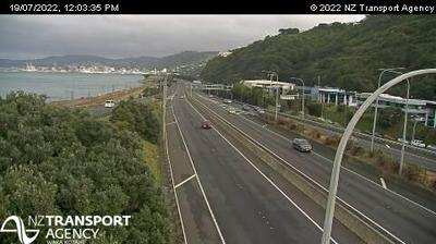 Daylight webcam view from Cashmere › South: SH1/SH2 Interchange