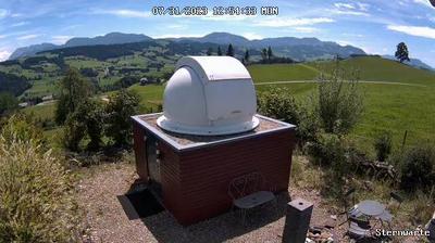 Aktuelle oder letzte ansicht von Steinhuserberg: Sternwarte − Webcam