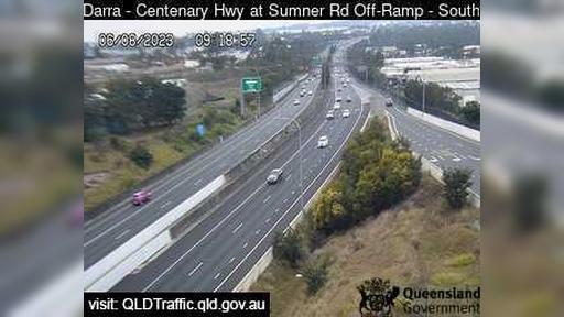 Webcam Wacol: Darra − Centenary Motorway − Ipswich Motorw