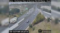 Brisbane City: Darra - Centenary Motorway - Ipswich Motorway (North) - Overdag