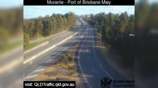 Webcam Murarrie: Port of Brisbane Motorway (West)