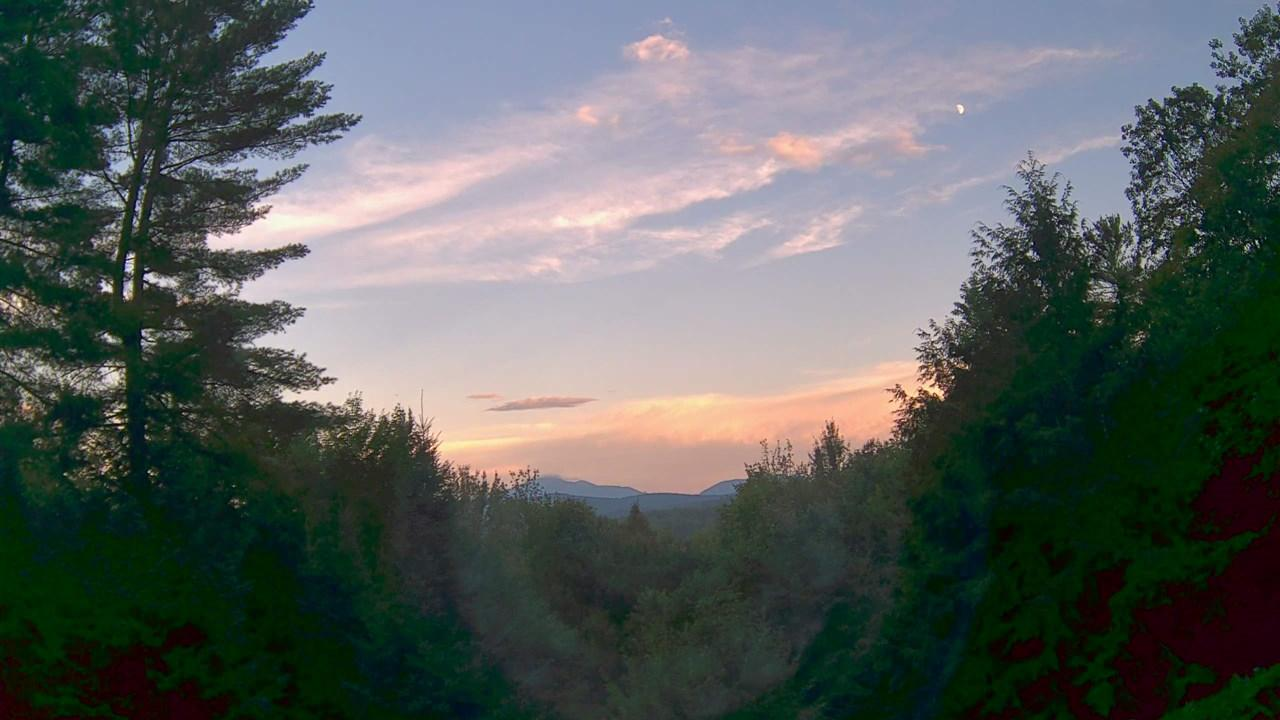 Webcam Littleton: Franconia Notch, Mt. Lafaytte and Canno