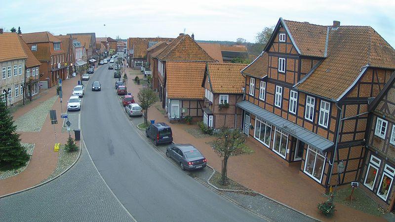 Webcam Bleckede: Bleckeder Innenstadt
