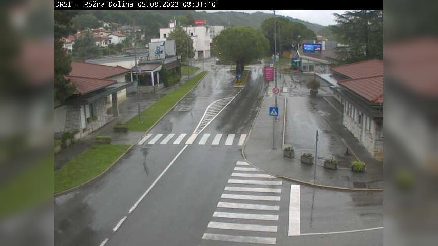 Webkamera Pristava: R2-444, Nova Gorica − Rožna Dolina, Rožn