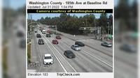 Beaverton: Washington County - th Ave at Baseline Rd - Dagtid