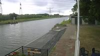 Hengelo › South-West: View on the Twente canal fromout Rowing club Tubantia - Current