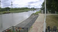Hengelo › South-West: View on the Twente canal fromout Rowing club Tubantia - Day time