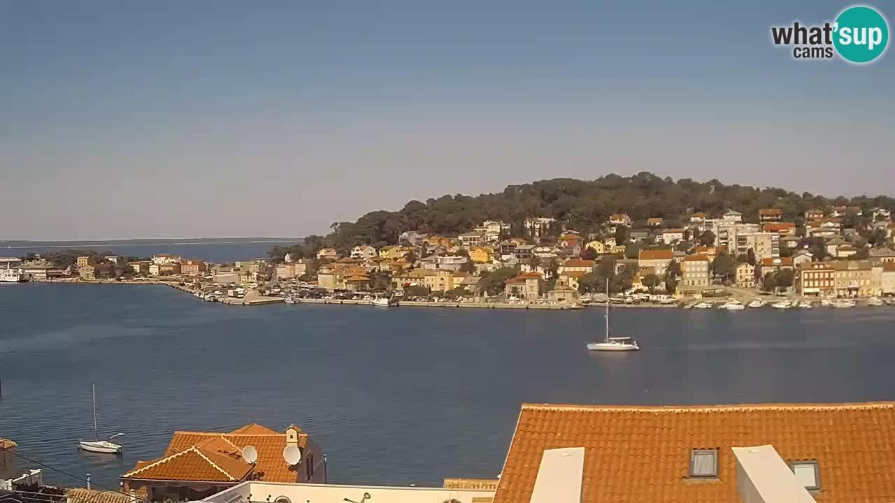 Webcam Mali Lošinj: Mali Losinj panorama Skveric