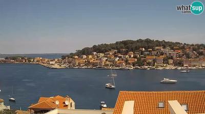 Tageslicht webcam ansicht von Mali Lošinj: Mali Losinj panorama Skveric