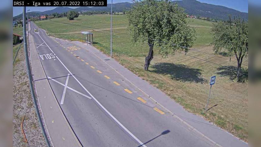 Webcam Iga Vas: R1-213, Pudob − Babno Polje