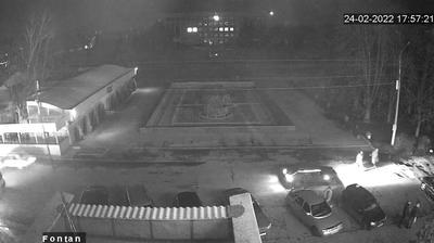 Славянск - Донецкая область, Украина: фонтан