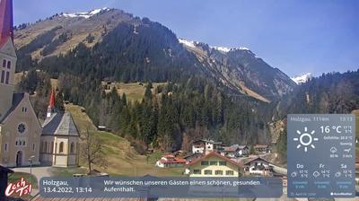 Gemeinde Holzgau: Holzgau Dorf - Holzgau - Lechtal Tourismus - Tourismusbüro Holzgau - Hängebrücke Holzgau - Jöchelspitze - Bergparadies Jöchelspitze - Steeg - Pimig - Steeg, Lechtal - Ruitelspitze - Lechtal Alps - Lechtal