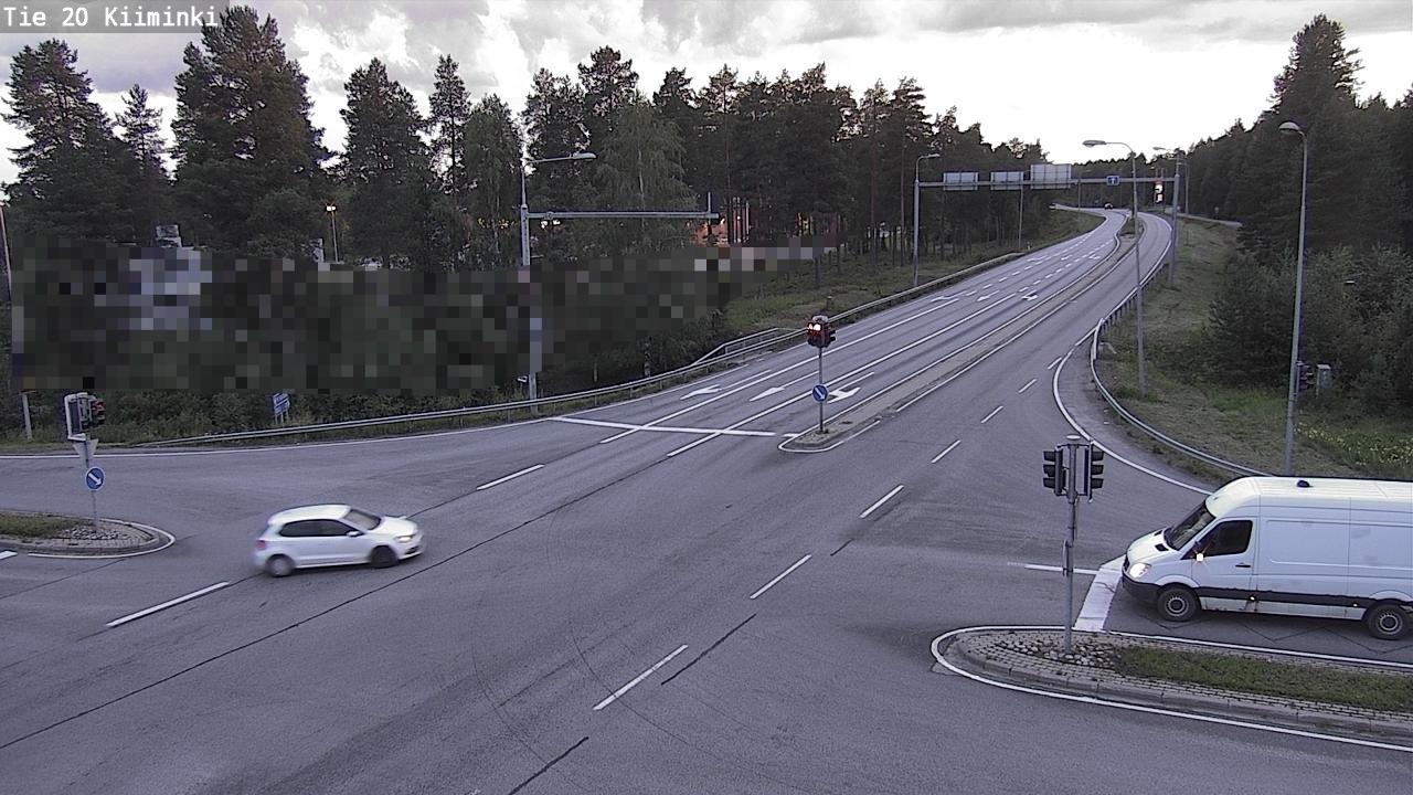 Webcam Oulu: Tie 20 Kiiminki − Ouluun