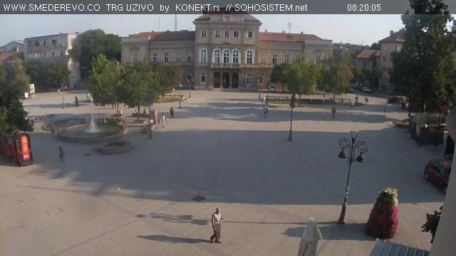 Webcam Smederevo: Trg Republike