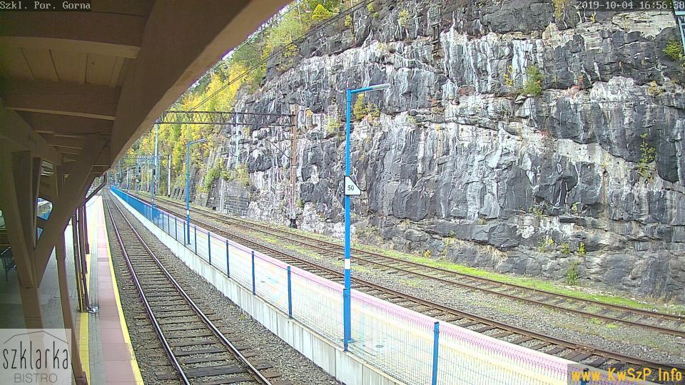 Webcam Szklarska Poręba: Railway station, Szklarska Poreb