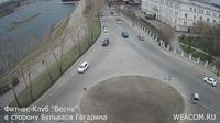 Irkutsk: Иркутск - Иркутская область, Россия: Онлайн-камера на фитнес-клубе «Весна», в сторону бульвара Гагарина - El día