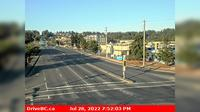Courtenay > East: Hwy A at Ryan Road in - looking eastbound - Current