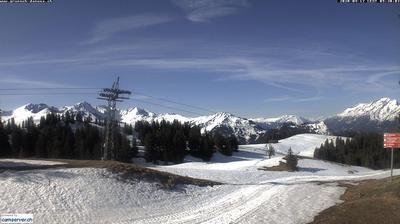 Tageslicht webcam ansicht von Ueberlandquart: Grüsch Danusa