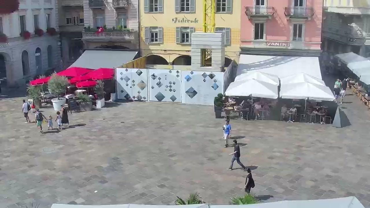 Webkamera Lugano: Piazza Riforma