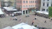 Lugano: Piazza Riforma - Overdag