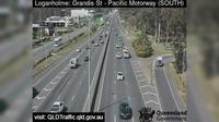 Logandale: Pacific Highway - Grandis Street (looking South East) - Day time