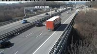 Leinfelden-Echterdingen: A  AS Stuttgart-Degerloch Blickrichtung Karlsruhe - Dia