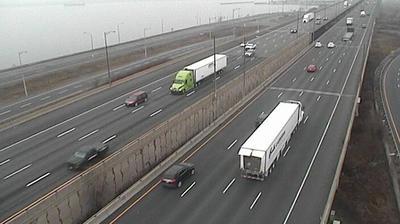 Vue webcam de jour à partir de Hamilton: QEW Burlington Skyway