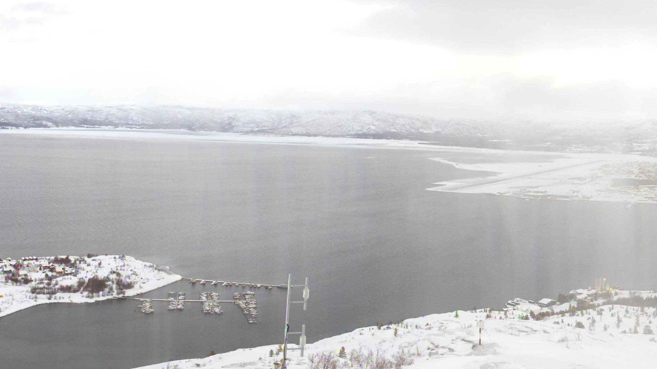 Webcam Komsafjellet,l: Alta − Alta Port Authority − Nordl