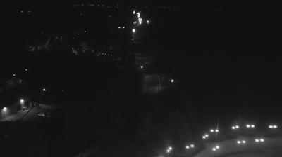 Vue actuelle ou dernière à partir de Bratsk: Братск. Наймушина. Панорамная камера на Братскую ГЭС