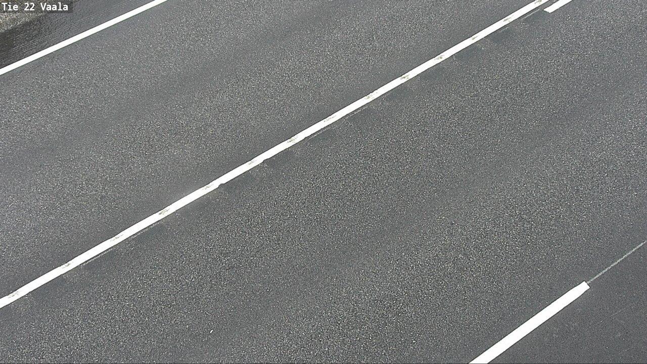 Webkamera Vaala: Tie22 − Tienpinta