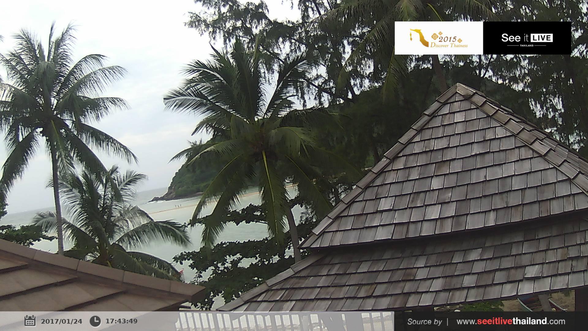 Webcam บ้านแม่หาด: Maehaad Bay Resort