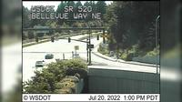 Clyde Hill: SR  at MP .: Bellevue Way NE (th Ave NE) - Day time