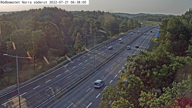 Webcam Goddered: Kungälvsbron Södra Söderut