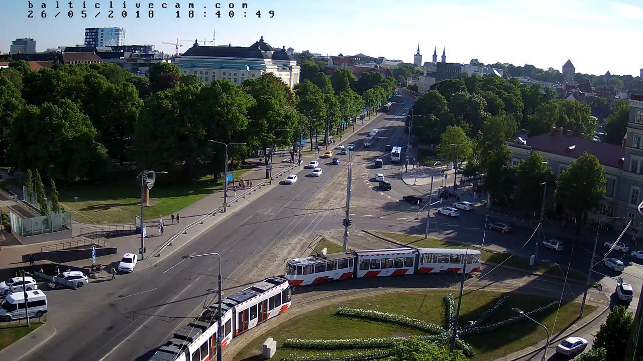 Webcam Tallinn: Viru väljak